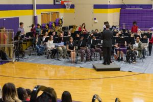 B.C.H.S. Concert Band is set to play during the Annual Christmas Concert on December 3, 2018.