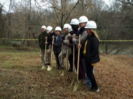 Groundbreaking for Cahaba River Trail Canoe Launch