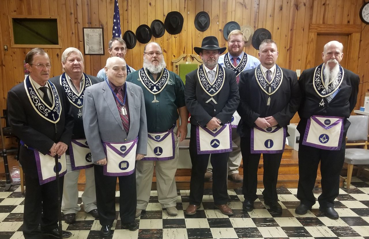 Woodstock Coldwater Lodge #148 F&AM Elects New Officers