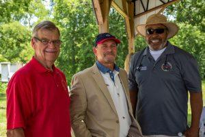 Councilman Tom Owings - Brent; Mayor Terry Morton - Centreville; Councilman Don Mack - Centreville