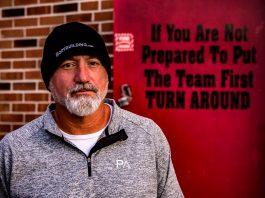 West Blocton High School's Head Football Coach, Eric Hiott
