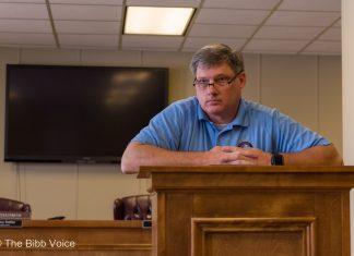 Bibb County EMA Director Kirk Smith