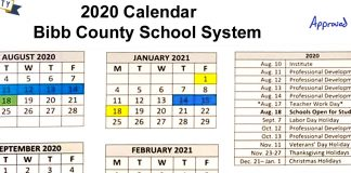 Bibb County Board of Education approves New Amended Calendar for upcoming school year.