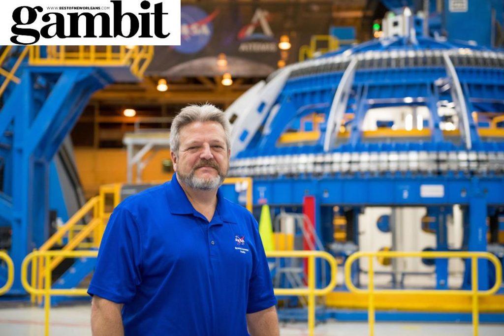 Robert Champion, director of NASA's Michoud Assembly Facility